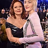 Pictured: Susan Sarandon and Saoirse Ronan