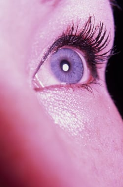 Expert Makeup Artist Tips from Backstage London Fashion Week for Bigger Eyes. Easy Tricks To Open Up the Eyes.