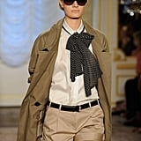Imagine this look without the bow scarf. Still cool, right? But not as complete. It's a genius touch like this that makes an outfit flawless. Do try this at home.