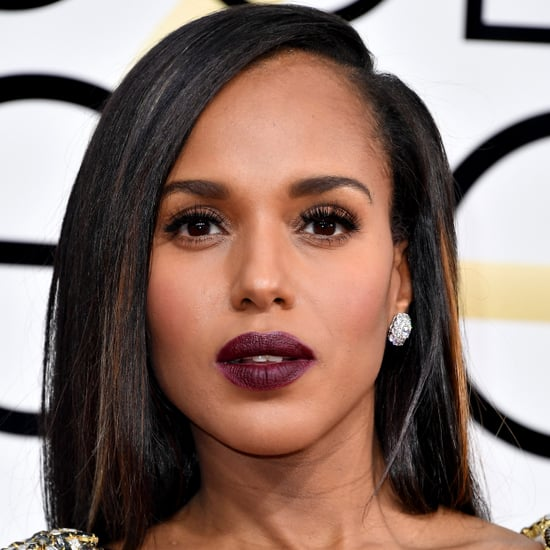 Kerry Washington's Hair and Makeup at the 2017 Golden Globes