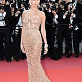 Or Rose Gold and Sheer — Like She Did in Cannes