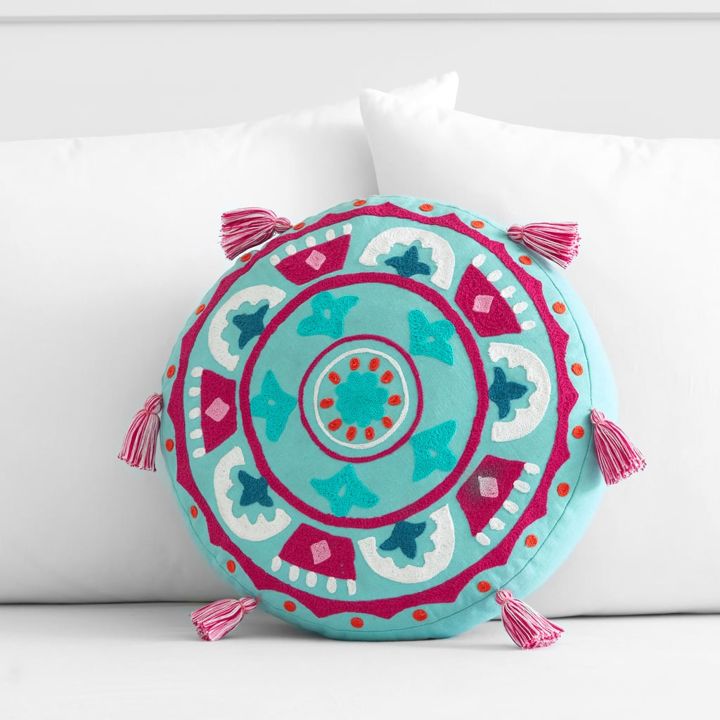 Products pictured: Bohemian Medallion Pillow ($35)