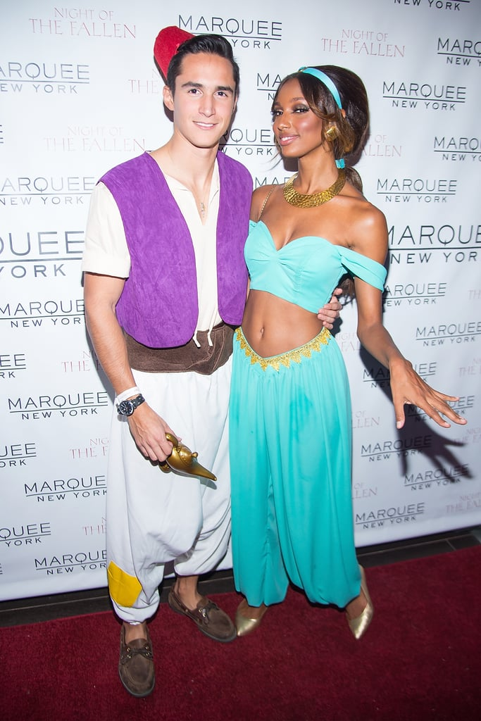 Jasmine Tookes as Princess Jasmine From Aladdin