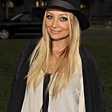 Nicole Richie attends an event at the Hollywood Forever cemetery.