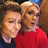 Kelly Ripa and Ryan Seacrest as Each Other in 2017
