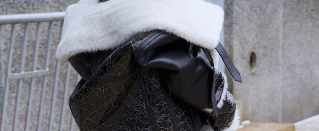 How Do We Not Already Own This Perfect Shearling Fall Coat? Buying Immediately!