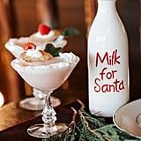 Seasonal Santa-Themed Drink Bar