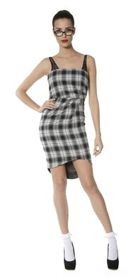 Alice and Olivia Plaid Dress ($385)