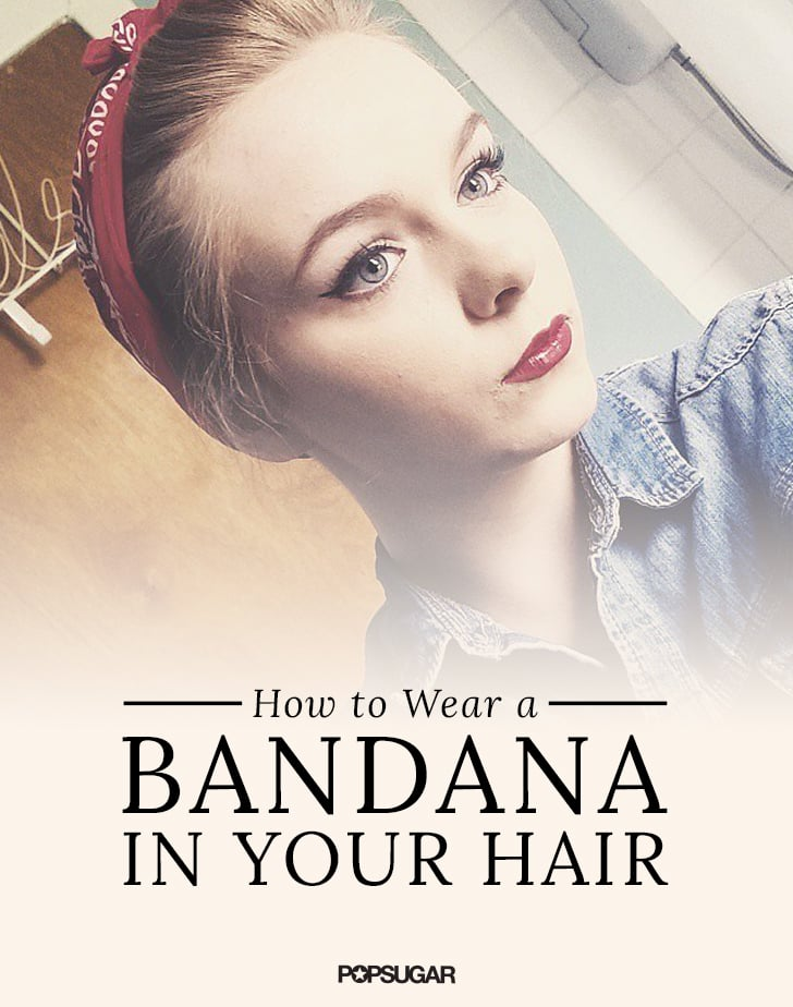 How To Wear A Bandana In Your Hair