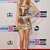 Taylor's Gold Stilettos