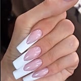 Kylie Jenner's Deep French Manicure