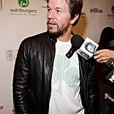 Mark Wahlberg answered questions about Wahlburgers.