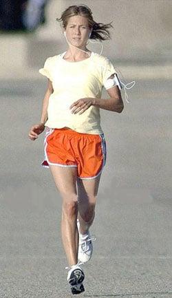 Jennifer Aniston for Nike