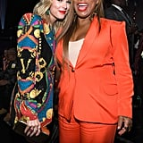Taylor Swift and Queen Latifah at the 2019 MTV VMAs