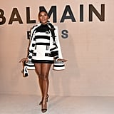 Janelle Monáe at the Balmain Fall 2020 Show