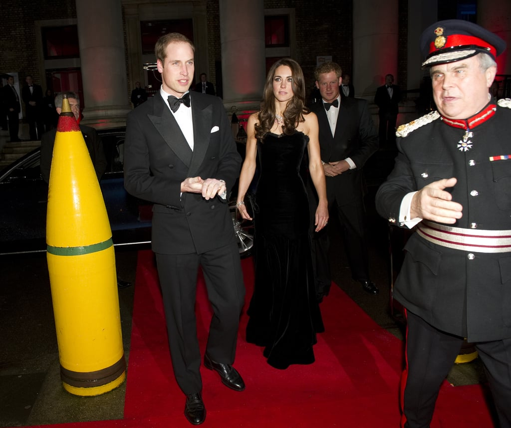 Prince William, Kate Middleton, and Prince Harry were invited to the Sun Military Awards at the Imperial War Museum in London.