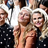 Pictured: Alice Eve, Sailor Brinkley Cook, and Christie Brinkley