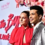 Ellie Woods and Jordan Fisher at the P.S. I Still Love You Premiere in LA