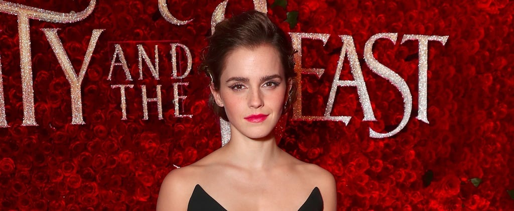 Emma Watson Snuck This Brilliant Beauty and the Beast Symbol Into Her Jumpsuit