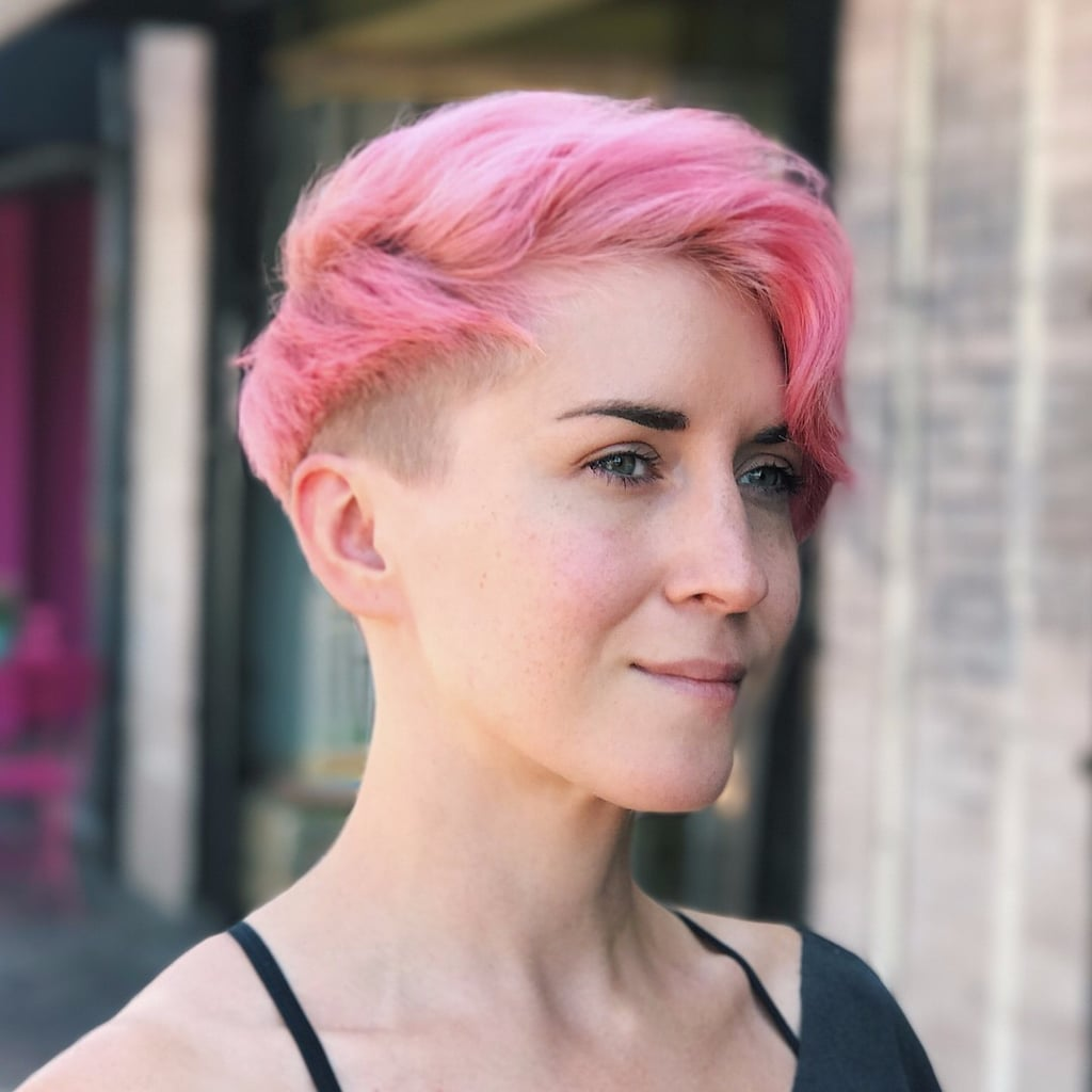 Short Bright Coloured Hairstyles