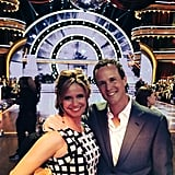 """Scott: """"Chillin' with Gibbler at Dancing With The Stars! Good luck Candace! @candacecbure @andreabarber #DWTS """""""