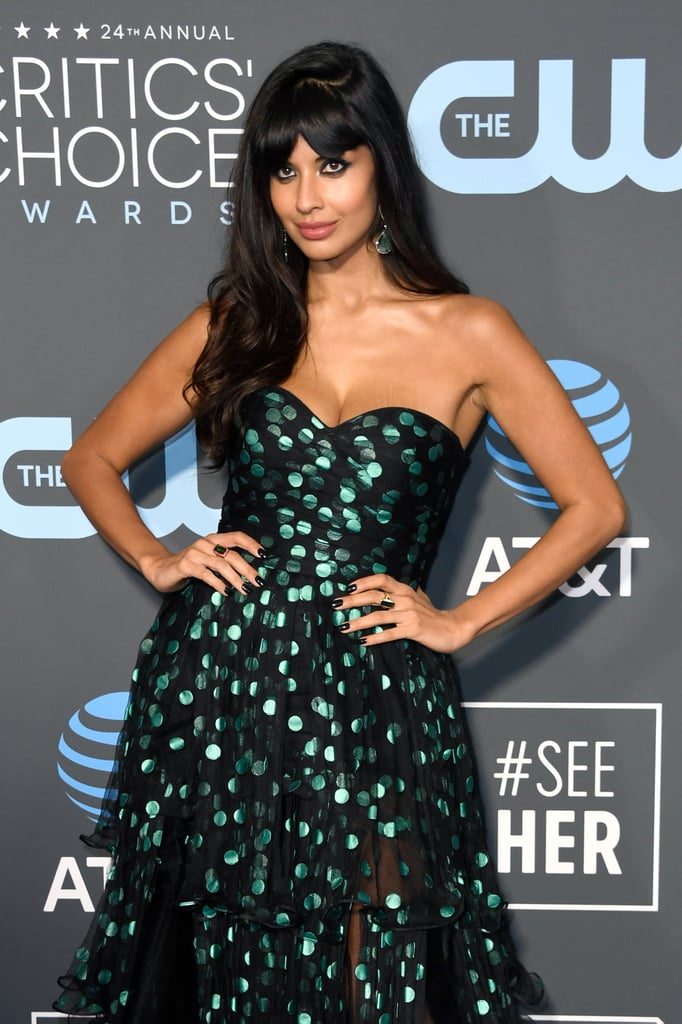 Jameela Jamil Boots at the 2019 Critics' Choice Awards
