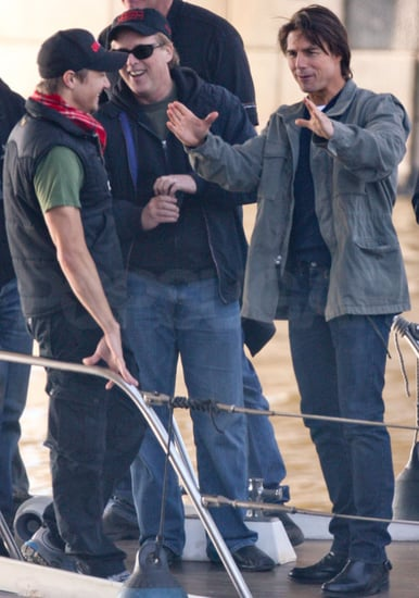 Pictures of Tom Cruise and Jeremy Renner in Prague For Mission Impossible 4