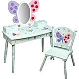 Butterfly Garden Vanity and Chair Set