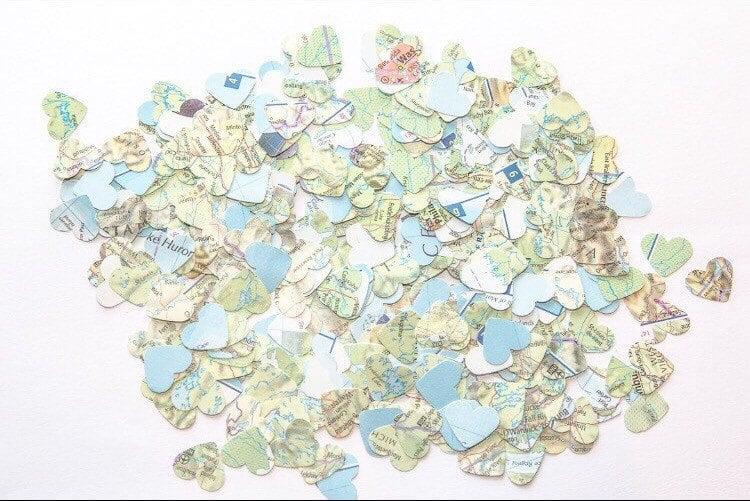 Map Confetti