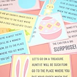 This Easter scavenger hunt printable from Happiness is Homemade is easy enough for the smallest kids to enjoy.