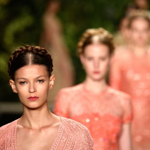 Naeem Khan Spring 2014 Hair and Makeup | Runway Pictures