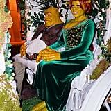 Heidi Klum Shrek Halloween Costume 2018