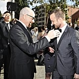 They Exchanged This Precious Handshake at the 19th Annual SAG Awards in January 2013