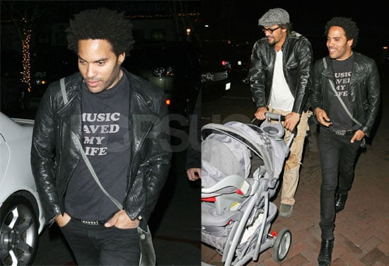 Lenny Is Just Another Doting Dad