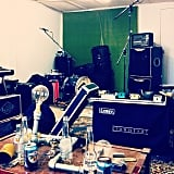 Music sheds offer a great opportunity to keep all of one's music gear in one place.
