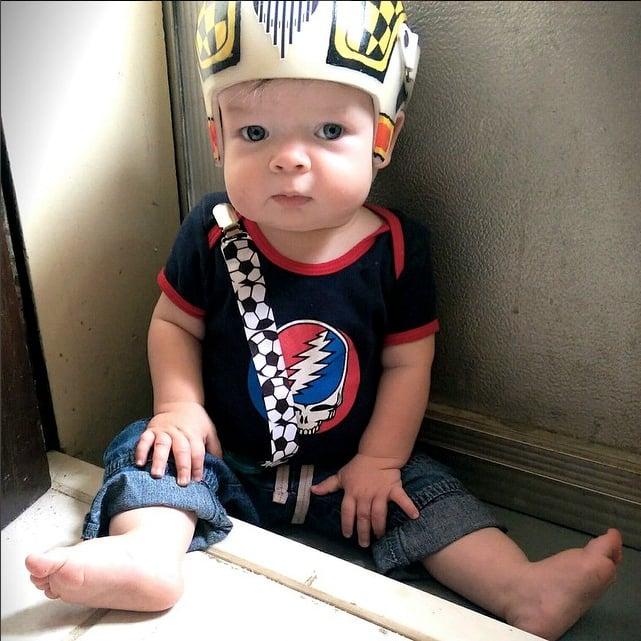Dad Designs Star Wars Baby Helmets