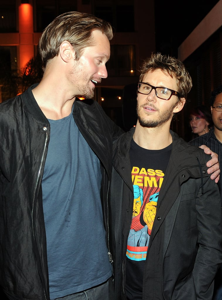 Alexander Skarsgard and Ryan Kwanten were at Comic-Con.
