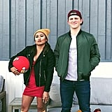 T.J. and Spinelli From Recess