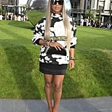 Eve at the House of Holland London Fashion Week Show