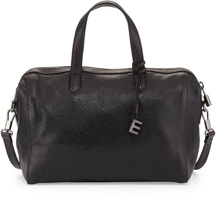 Elizabeth and James Scott Crossbody Duffel Bag, Black ($495)