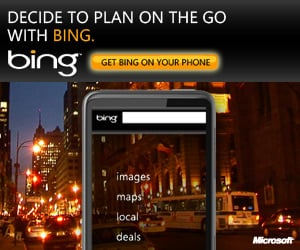 Hooray For Bing Mobile Deals!
