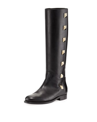 Boots, approx $2,039.80, Valentino at Neiman Marcus