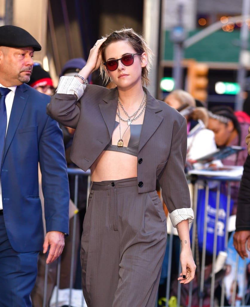 Kristen Stewart Just Made Leather Bras a Thing