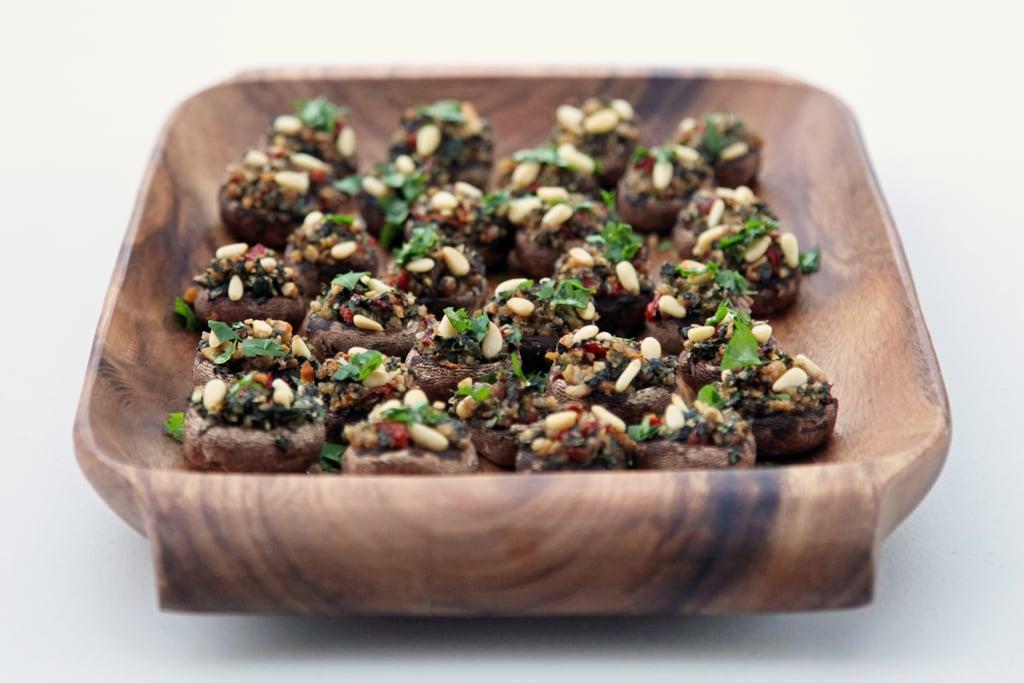 Vegetarian Appetizers: Vegetarian Stuffed Mushrooms