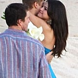 Selena Gomez and Justin Bieber got all wrapped up in each other in Cabo.