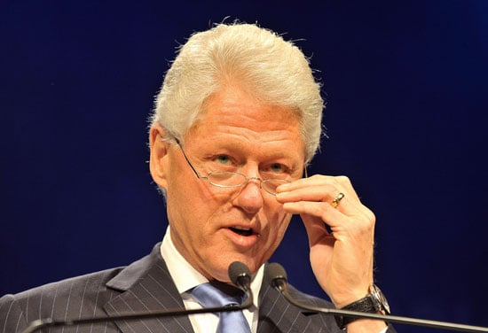 Bill Clinton Says He's Cool With Staying in the Shadows