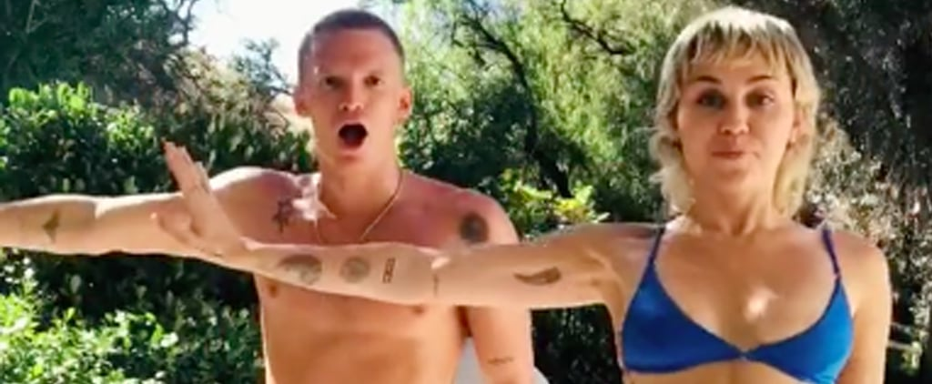 Shop Miley Cyrus's Blue Bikini From TikTok With Cody Simpson