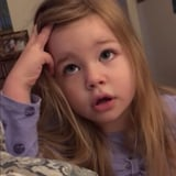 Toddler Hilariously Scolds Her Dad After He Leaves the Toilet Seat Up Again