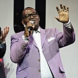 Randy Jackson at Beverly Center for Fashion's Night Out.