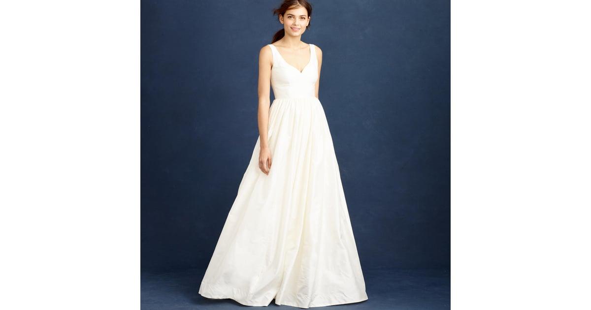 J.Crew Karlie Gown ($1,150)   Winter Wedding Dresses   POPSUGAR ...